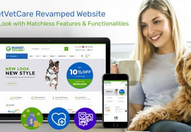 BudgetVetCare Revamped Website – A Fresh Look with Matchless Features & Functionalities