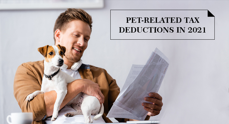 Pet-Related Tax Deductions in 2021